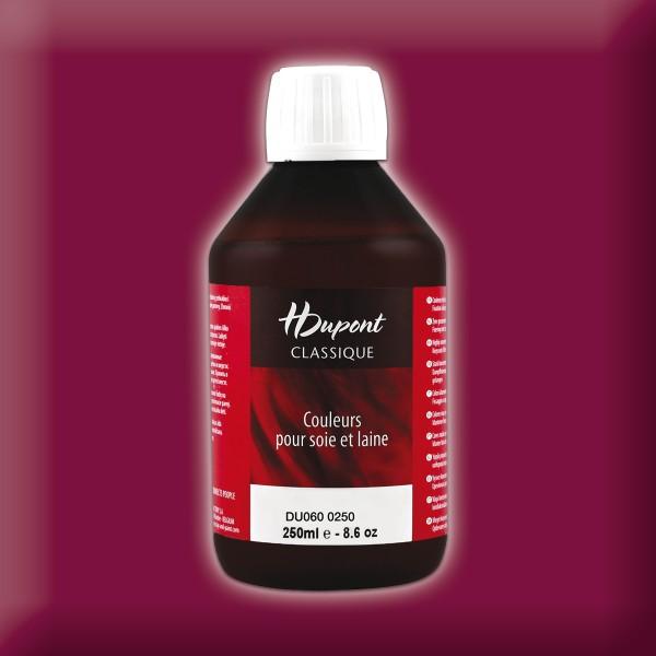 H.Dupont Classique 250ml Bordeaux/weinrot Seidenmalfarbe, Dampffixierung