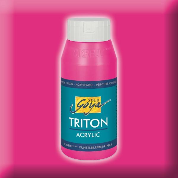 SOLO GOYA Triton Acrylic 750ml violettrot