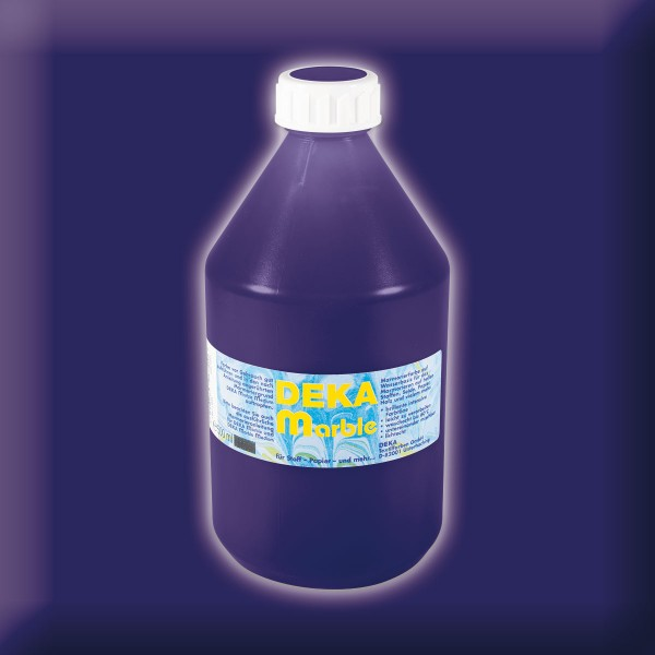 Deka-Marble Marmorierfarbe 500ml dunkelblau