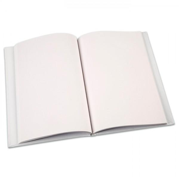 Chinabuch/Notizbuch 80g/m² DIN A5 60 Seiten weiß, fester Kartoneinband