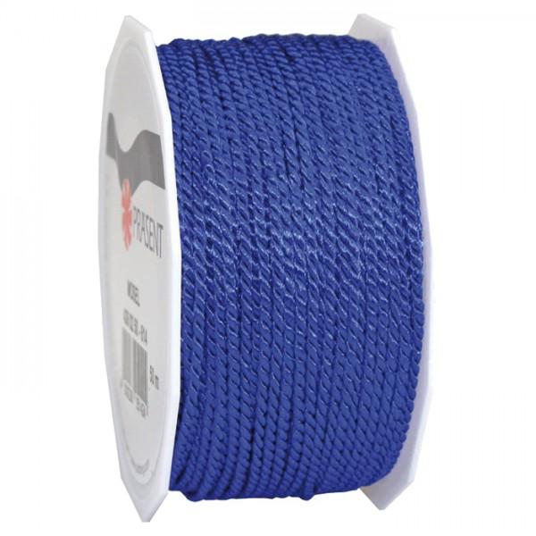 Kordel 2mm 50m blau 100% Polyester