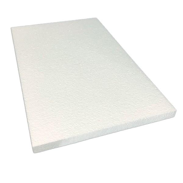 Styropor-Platte weiß 50x30x2cm