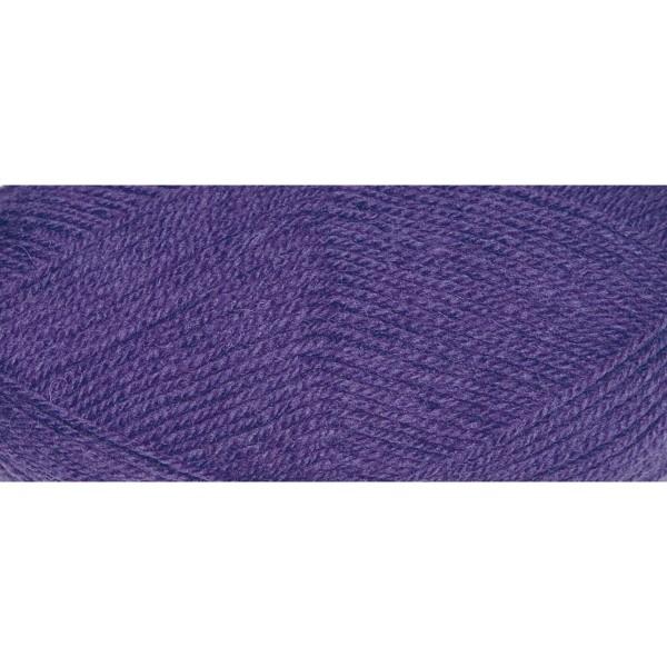 Hauswolle Rustikal ca. 100g lila 60% Wolle, 40% Polyacryl