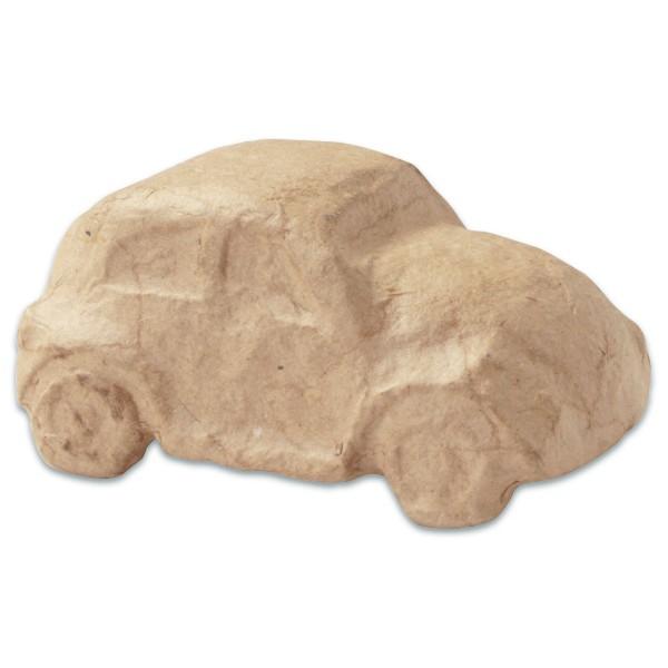 VW-Käfer Pappmaché 9,5x5,5x4,3cm Größe XS, von Décopatch