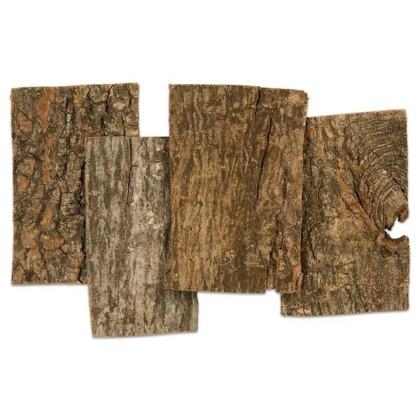Baumrindenplatten 1-4mm ca. 9,5x6,5cm 28 St.
