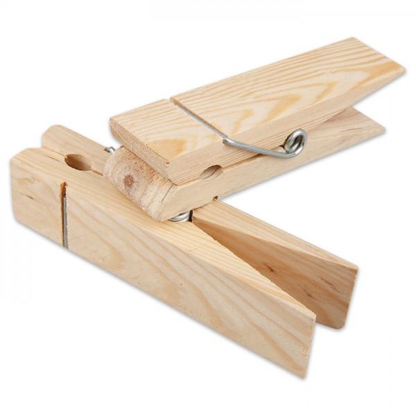 Riesenholzklammer 15x3,5cm natur