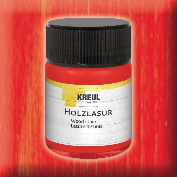 Holzlasur 50ml rosenrot
