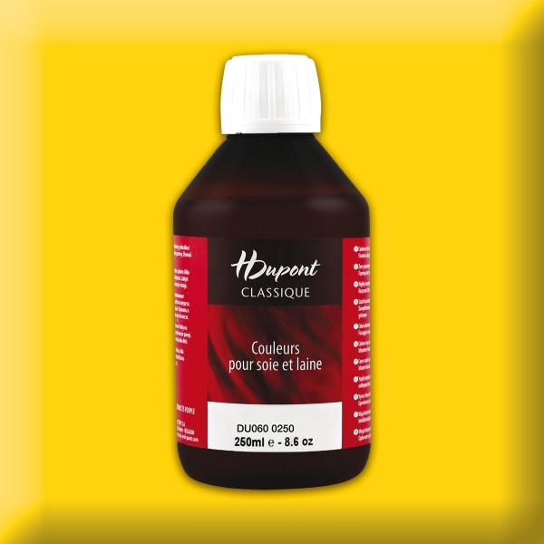 H.Dupont Classique 250ml Hélianthe/sonnenblume Seidenmalfarbe, Dampffixierung