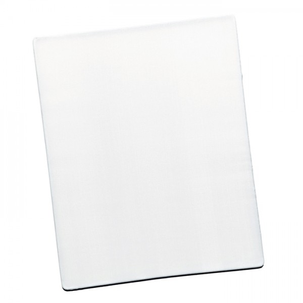 Fensterbild Seide Pongé 08 20x25cm Rechteck 100% Seide, naturweiß