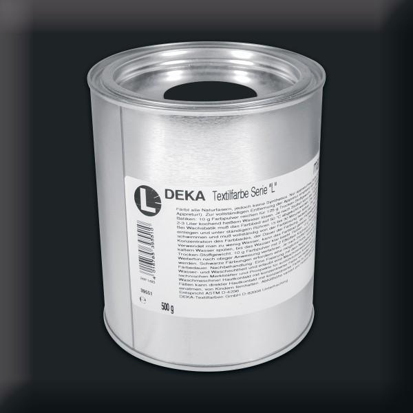 Deka-Serie L Textilfarbe 500g tiefschwarz