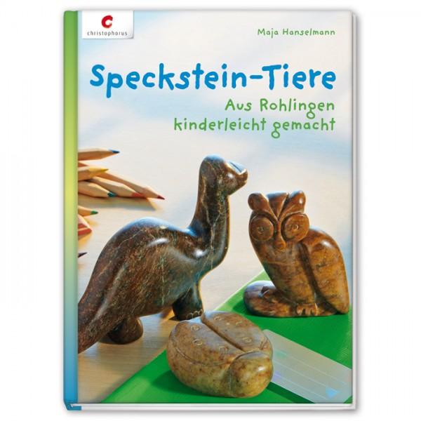 Buch - Speckstein-Tiere: Aus Rohlingen kinderleicht gemacht 64 Seiten, 14,8x27cm, Hardcover