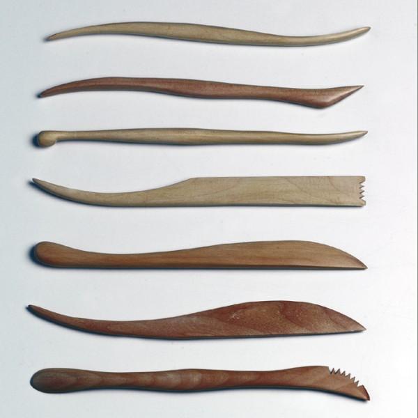 Modellierhölzersatz 7-teilig ca. 20cm
