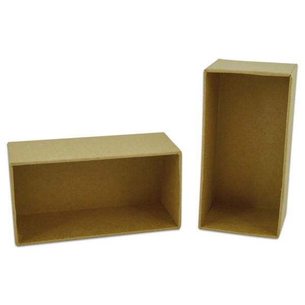 Pappboxen 102x52x45mm 2 St. rechteckig