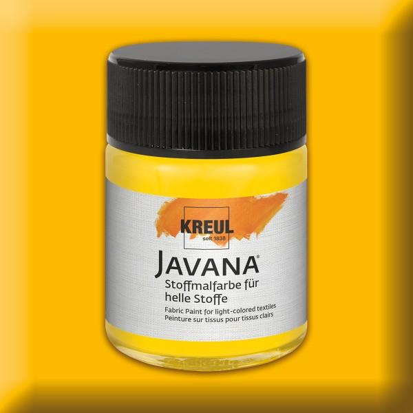 Javana Stoffmalfarbe helle Stoffe 50ml goldgelb