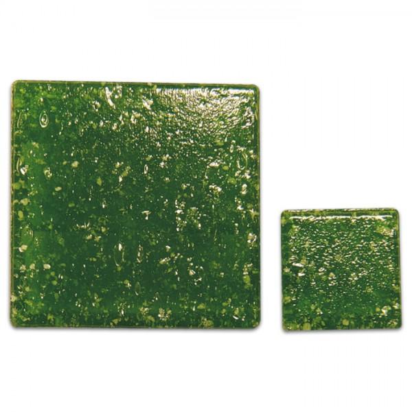 Glasmosaik Joy 10x10x4mm 200g tannengrün ca. 290 Steine