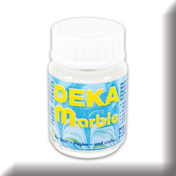 Deka-Marble Marmorierfarbe 25ml weiß