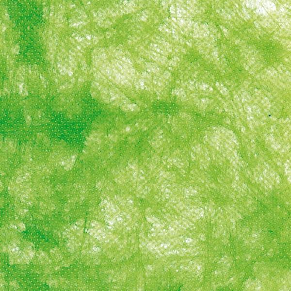 Vlies Uni 25cm apfelgrün 100% Polyester
