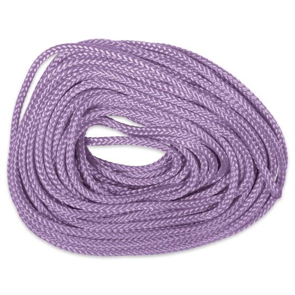 Paracord-Garn rund 3mm 10m violett Makramee-Knüpfgarn, Polyester
