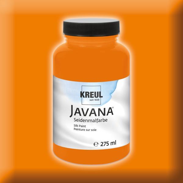 Javana Seidenmalfarbe 275ml leuchtorange