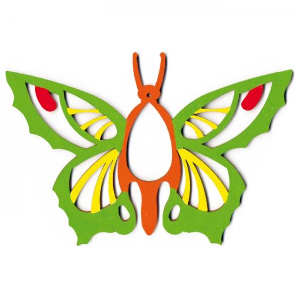 Schmetterling 3 Holz 3mm ca. 175x120mm natur