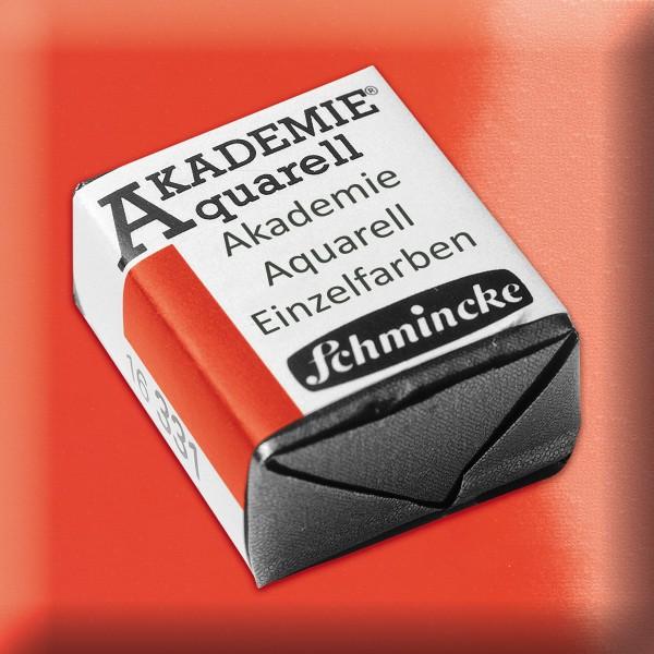 Akademie Aquarell 1,6ml kadmiumrotton ½ Näpfchen