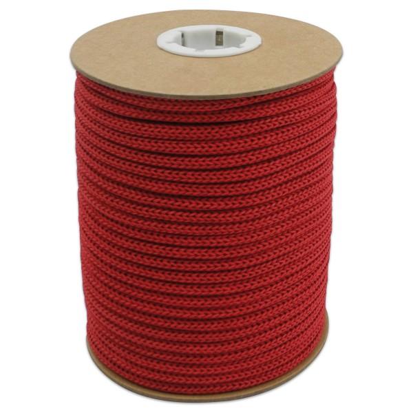 Makramee-Garn - Kordel aus Papier 4mm 30m rot aus recyceltem Material