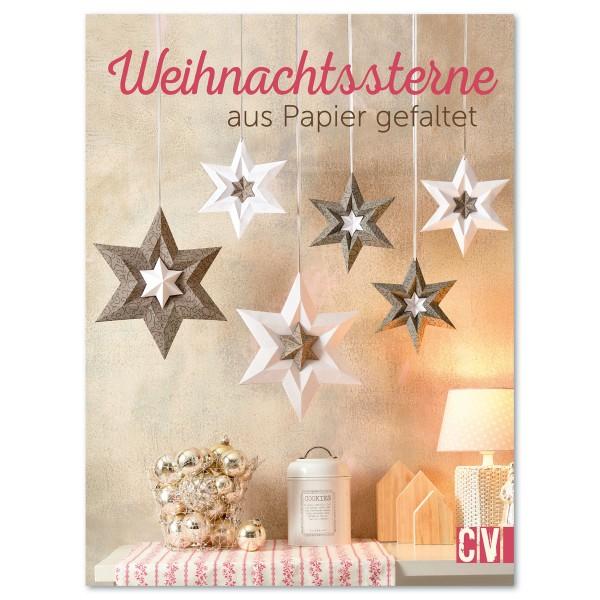 Buch - Weihnachtssterne aus Papier gefaltet 80 Seiten, 16,9x22,3cm, Softcover
