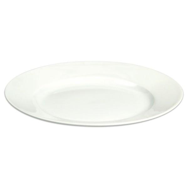 Teller Porzellan ca. Ø 19cm weiß