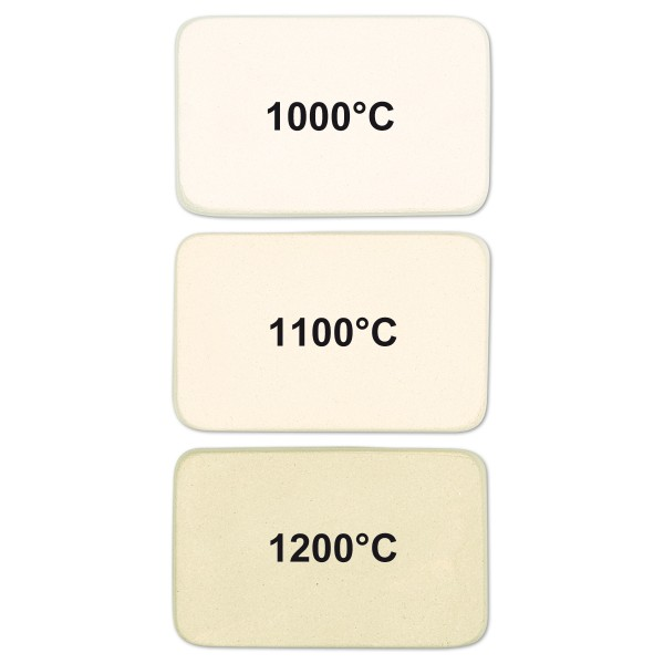 Dreh-/Aufbauton 10kg weiß-hellcreme 25% Schamotte Brennbereich 1000-1280°C