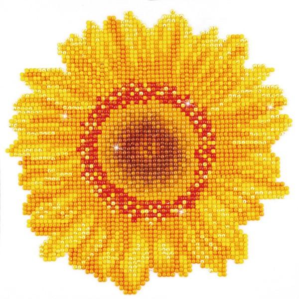 Diamond Dotz 20x20cm Sonnenblume