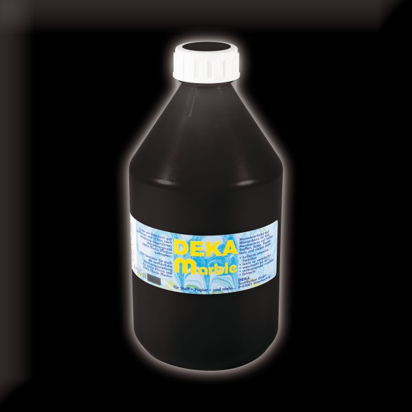 Deka-Marble Marmorierfarbe 500ml schwarz