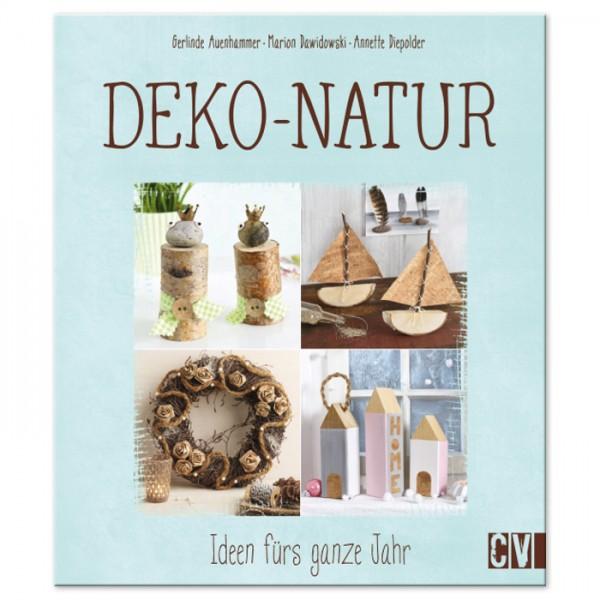 Buch - Deko-Natur - Ideen fürs ganze Jahr 80 Seiten, 21,6x25,2cm, Hardcover