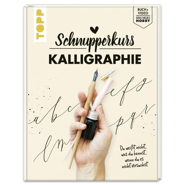 Buch - Schnupperkurs Kalligraphie 80 Seiten, 25x19,3cm, Hardcover