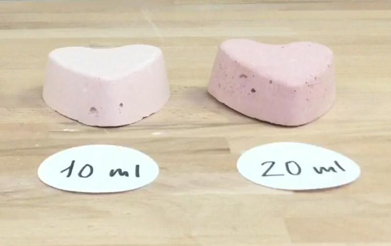 """Video """"Gießen in 3D-Silikonform Herzen"""""""