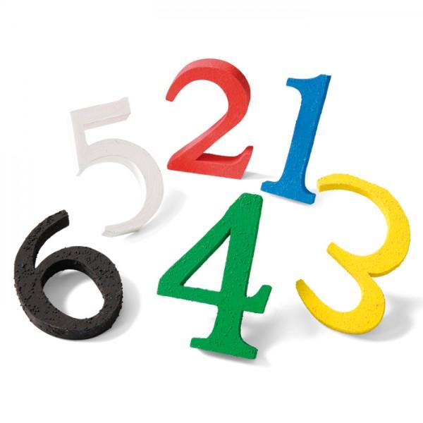 Fingerfarben ertastbar 6 Farben à 500ml gelb, rot, blau, grün, weiß, schwarz