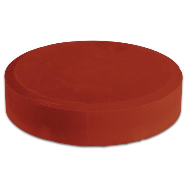 Farbtablette Ø 55mm rötel Wasserfarbe