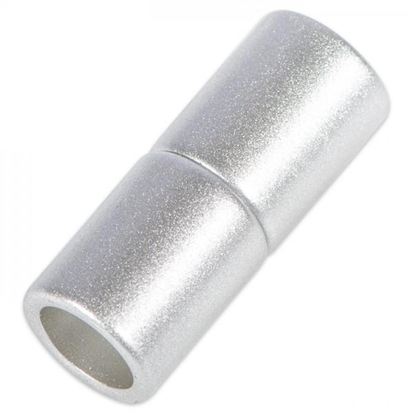 Power-Magnetverschluss z. Kleben 21x8,5mm edelstahlf. Innendurchmesser 6mm, Metall/Kunststoff