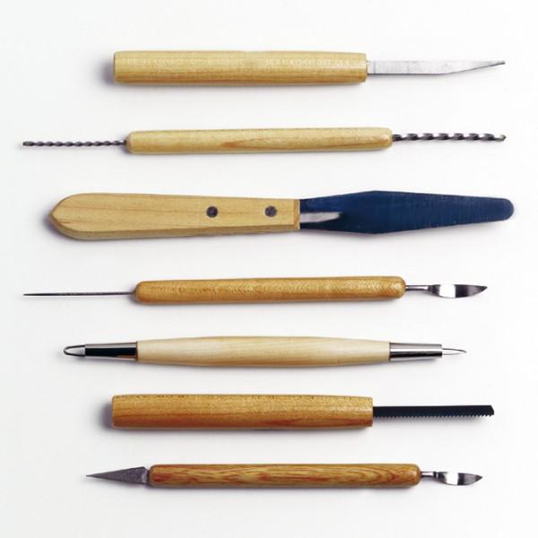 Keramikwerkzeugsatz 7-teilig 13-17cm