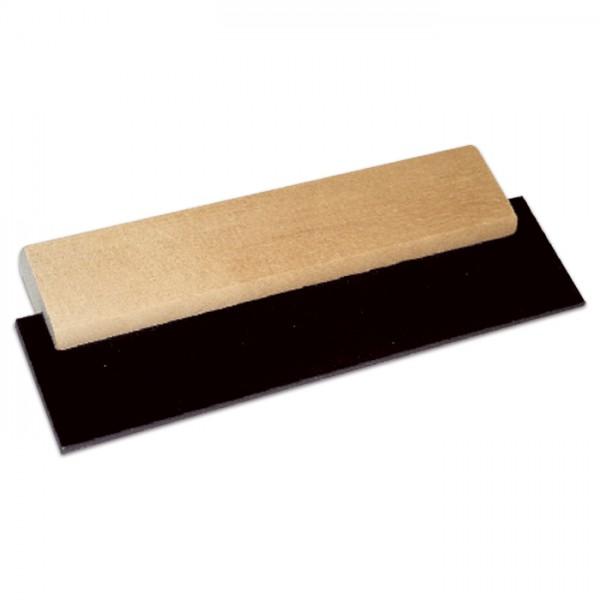 Fugengummi mit lackiertem Holzgriff 20cm