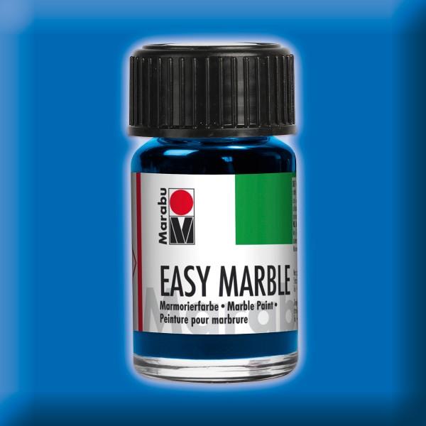 Easy Marble 15ml azurblau Marmorierfarbe