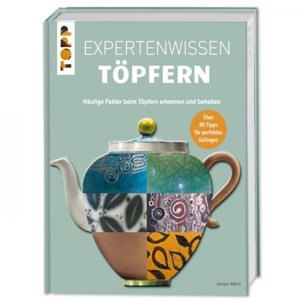 Buch - Expertenwissen Töpfern 144 Seiten, 22x28,5cm, Hardcover