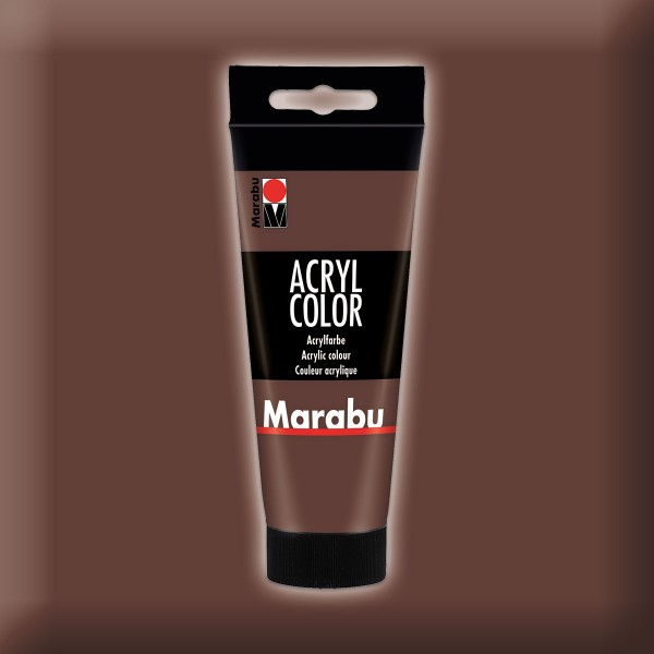Marabu Acryl Color 100ml mittelbraun