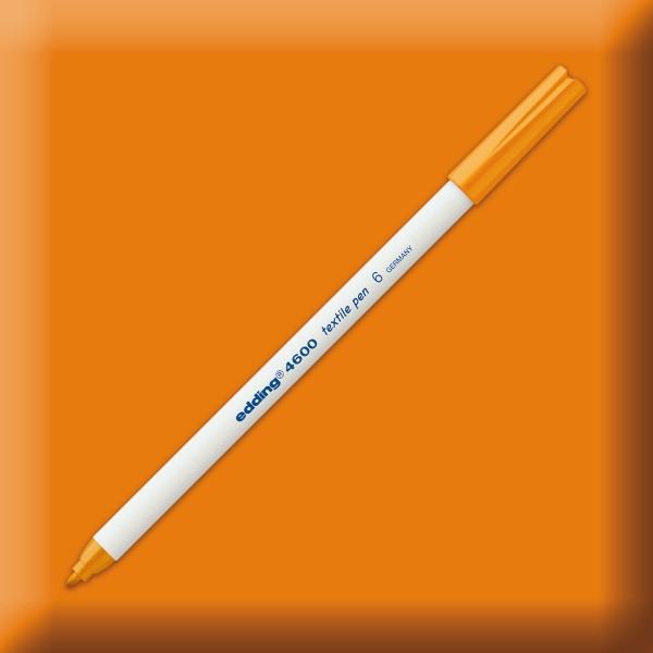 edding 4600 Textilstift orange Strichbreite 1mm