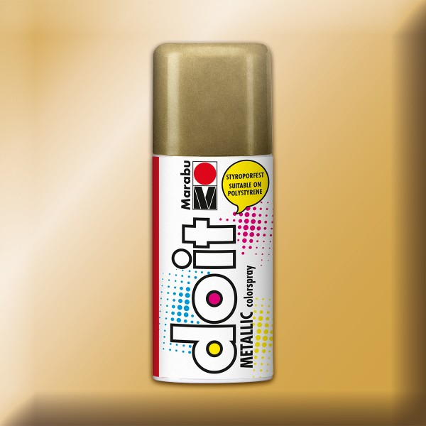 Marabu Do-it Colorspray 150ml metallic gold