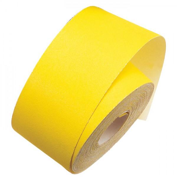 mako Schleifpapier Rolle 11cm 50m Körnung 40 Edelkorund, für lackierte Flächen