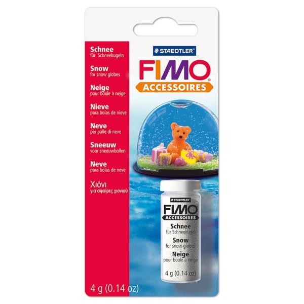 FIMO Schnee für Schneekugeln 4g