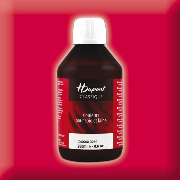 H.Dupont Classique 250ml Rouge à Levres/lippenrot Seidenmalfarbe, Dampffixierung