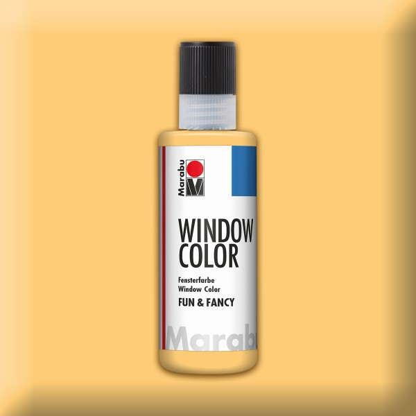 Marabu fun&fancy 80ml hautfarbe Windowcolor