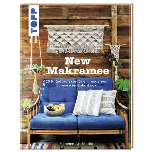 Buch - New Makramee 144 Seiten, 25x19,5cm, Hardcover
