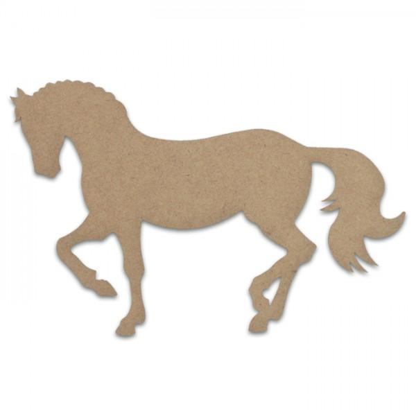 Pferd MDF 3mm 29x19cm